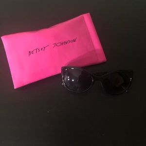 Betsey Johnson Tortoiseshell Sunglasses